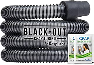 RespLabs CPAP Hose, Black-Out Tubing — The Original Universal 6 ft. Tube | Compatible with Respironics and ResMed Devices