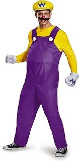 Men's Super Mario Wario Deluxe Costume