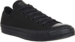 Converse Chuck Taylor All Star Low Top Shoe, Black, 9.5 M US