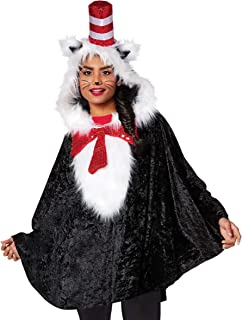 Cat in The Hat Dr. Seuss Poncho   Officially Licensed