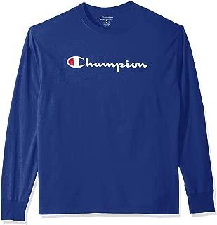 Champion Men's Classic Graphic Long Sleeve Tee