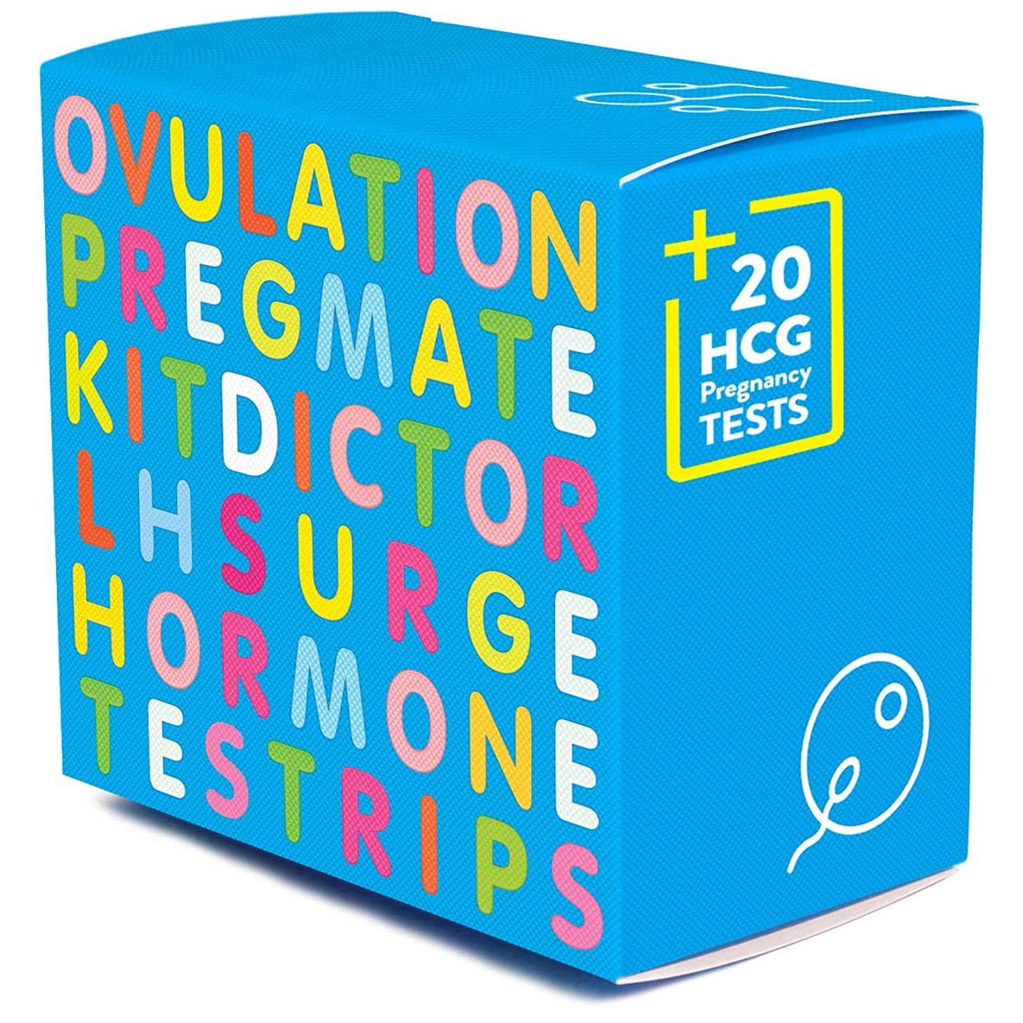 PREGMATE 100 Ovulation LH and 20 Pregnancy HCG Test Strips OPK LH Surge Predictor Kit Combo (100 LH + 20 HCG)