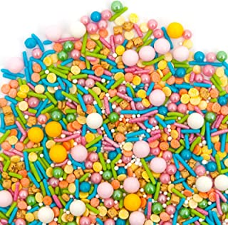 Sprinkles | TROPICAL Sprinkle Medley 8oz | Gorgeous Sprinkle Blends for Every Occassion | GLUTEN FREE. NUT FREE. DAIRY FREE.