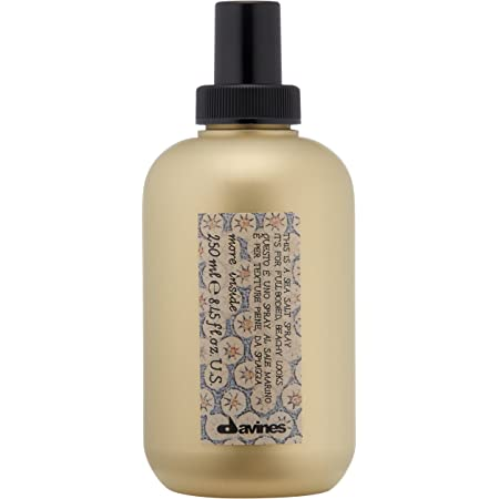 Davines This Is A Sea Salt Spray | Full-Bodied, Beachy Waves with Matte Finish | for All Hair Types | 8.45 Fl Oz