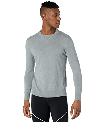Smartwool Sparwood Crew Sweater (Lunar Gray Donegal) Men