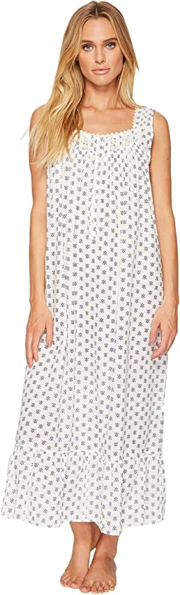 Eileen West - Cotton Lawn Geo Printed Ballet Nightgown