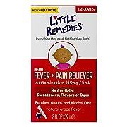 Little Remedies Infant Fever & Pain Reliever   Natural Grape Flavor   2 FL OZ