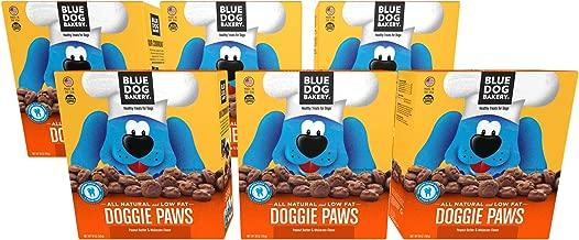 Blue Dog Bakery Natural Dog Treats, Doggie Paws, Original, Peanut Butter & Molasses Flavor