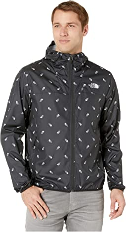 TNF Black Tossed Logo Print