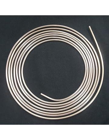 Guaina di plastica Tubi dei Freni 1m 1m metro 10m selezione Tubo di Freno /Ø 4,75 mm Acciaio ramato