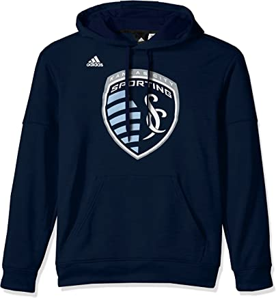 Adidas Men's Logo Set Team Issued Fleece Hood Collegiate Navy, 4XLarge