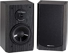 BIC America DV62si Bookshelf Speakers (Pair, Black)