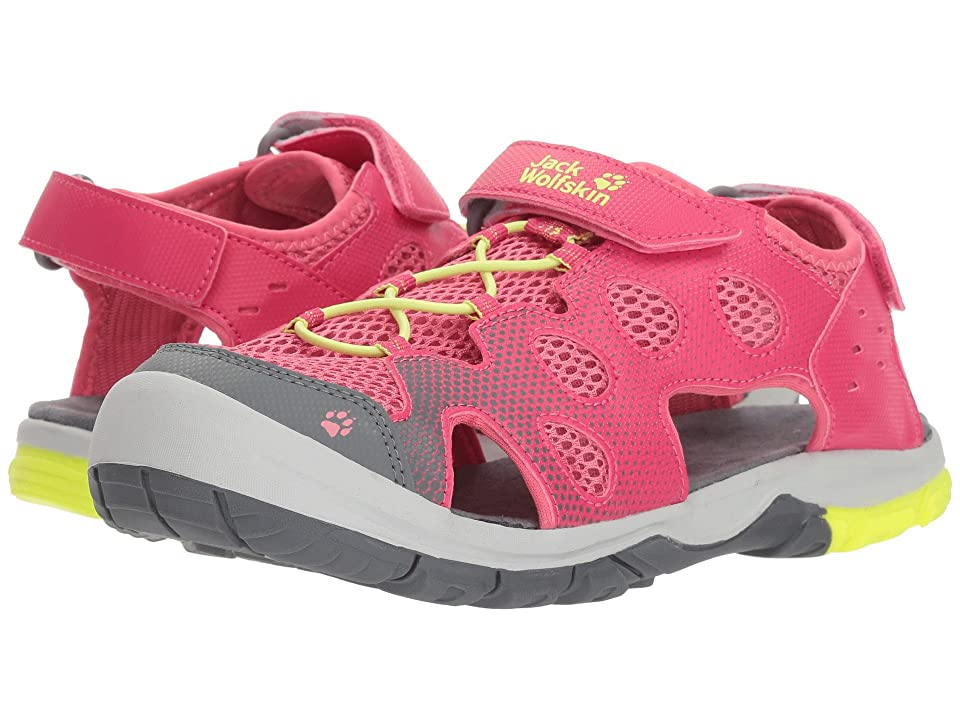 Jack Wolfskin Kids Titicaca VC Low (Toddler/Little Kid/Big Kid) (Tropic Pink) Girls Shoes