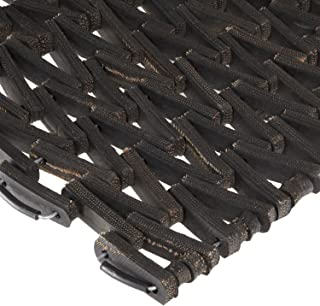 Durable Durite Recycled Tire-Link Outdoor Entrance Mat, Herringbone Weave, 36
