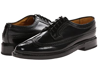 Florsheim Kenmoor Wingtip Oxford (Heritage Calf Black) Men
