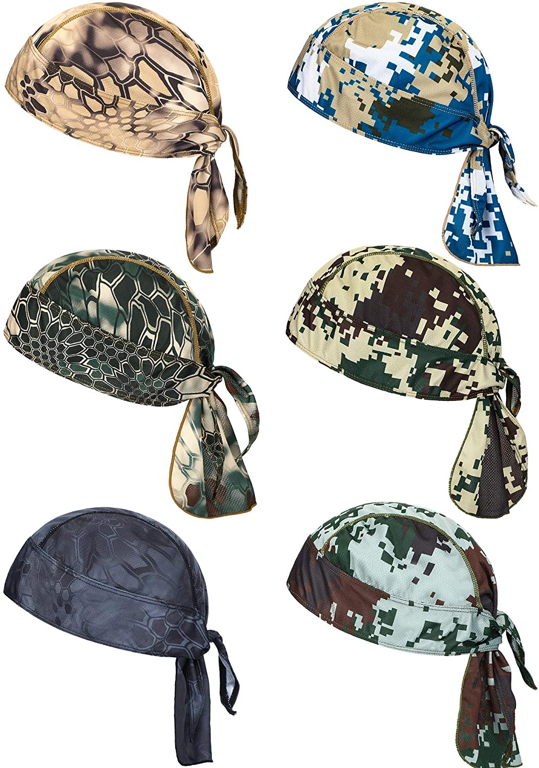 6 Pieces Max 48% OFF Sweat Wicking Beanie Breatha Helmet Liner 70% OFF Outlet Cap Skull