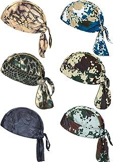 6 قطع امتصاص العرق قبعة قبعة خوذة بطانة الجمجمة قبعة تنفس ركوب الدراجات رئيس التفاف للنساء الرجال الأنشطة في الهواء الطلق
