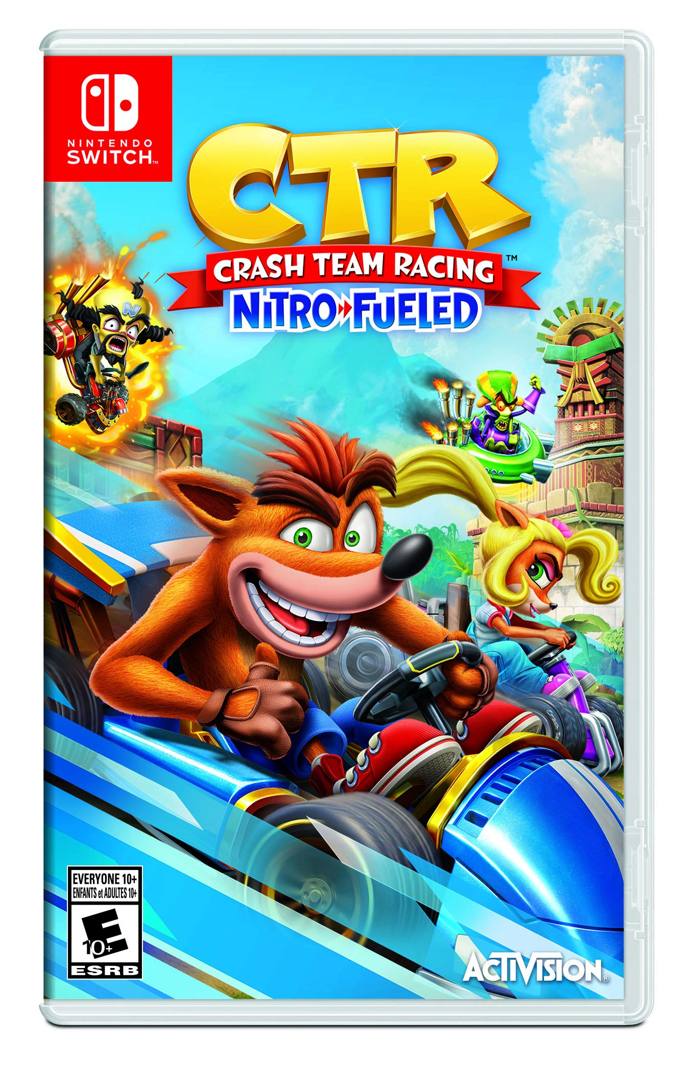 Nintendo Crash Team Racing Nitro-Fueled vídeo - Juego (Nintendo Switch, Racing, Modo multijugador, E10 + (Everyone 10 +)): Amazon.es: Videojuegos