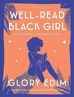 black girl reading