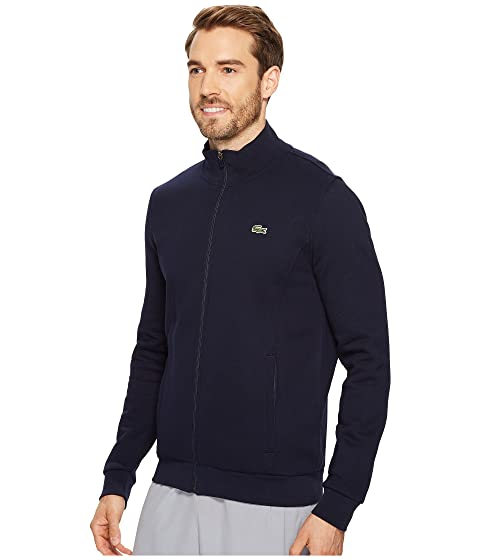 Full Fleece Sweatshirt Lacoste Zip Sport zq4ZW5f6