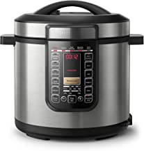 Philips All in One Multi Cooker/Pressure Cooker/Slow Cooker with 20 Pre-Set Cooking Programs, 9 Safety Protection Systems ...