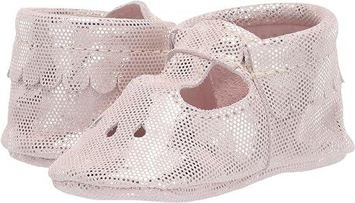 Pink Metallic Dots