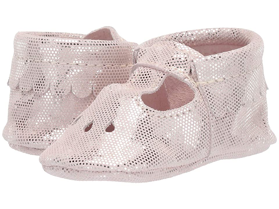e5d665467c4c Freshly Picked Soft Sole Mary Jane Candy Shop (Infant Toddler) (Pink  Metallic