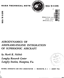 Aerodynamics of airframe-engine integration of supersonic aircraft