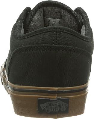 Amazon.com | Vans' Men's Atwood Lace Up Sneaker Black 8 Medium US ...
