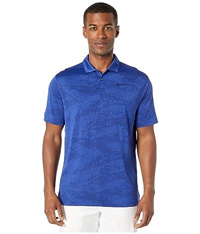 Nike Golf Dry Vapor Polo Camo Jacquard (Blue Void/Deep Royal Blue/Blue Void) Men