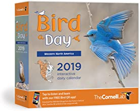 BIRD-A-DAY 2019 DAILY CALENDAR: WESTERN (cal) Cornell Lab Publishing (Cornell Lab of Ornithology)