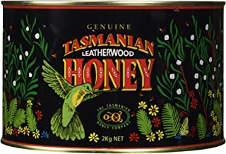 Genuine Tasmanian Leatherwood Honey (4.4 Pounds/2 Kilograms)