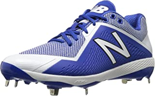 New Balance Pedroia L4040v4 Low Cut Metal Cleat - Royal
