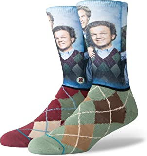Men's M558D18STB Step Brothers Crew Sock
