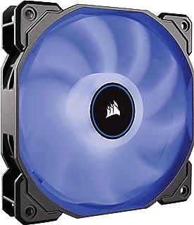 Corsair AF120, Air Series, 120mm LED Ventilateur Silencieux - Bleu (Pack Individuel)