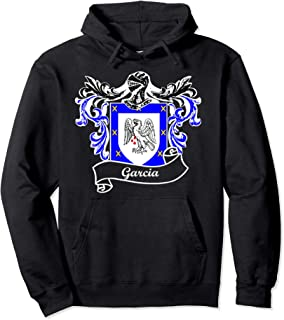 Garcia Coat of Arms surname last name family crest T-Shirt Pullover Hoodie
