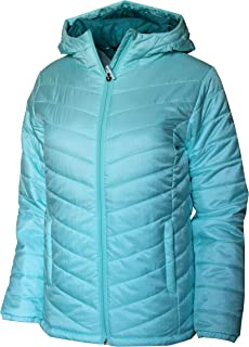 Columbia Youth Girls Morning Light Omni Heat Hooded Jacket