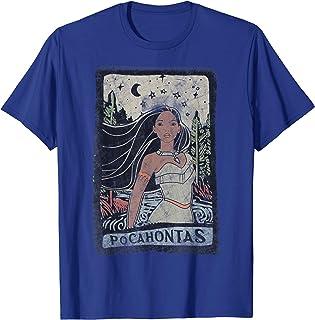 Disney Pocahontas Vintage Portrait Style T-Shirt