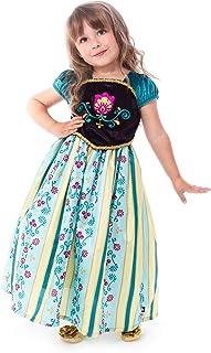 Little Adventures Alpine Princess Coronation Dress Up Costume (Medium Age 3-5)