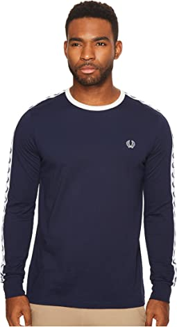 Fred Perry - Long Sleeve Taped Ringer T-Shirt