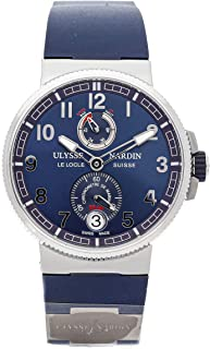 Ulysse Nardin Marine Mechanical (Automatic) Blue Dial Mens Watch 1183-126 (Certified Pre-Owned)