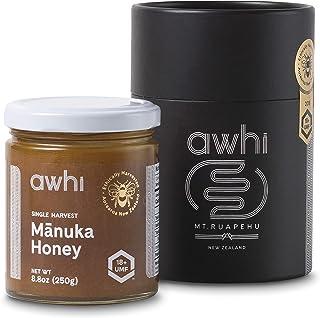 Awhi Certified UMF18+ (MGO696+) Single Harvest Raw Mānuka Honey│Ethically Harvested Superfood│Super Premium Grade Unpasteu...