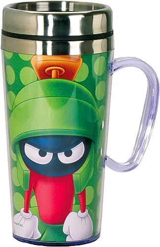 Looney Tunes Marvin el Marciano taza térmica portátil con asa