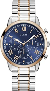 GUESS Mens Quartz Watch, Analog Display and Stainless Steel Strap W1309G4