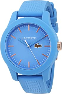 Lacoste Women's Blue Dial Silicone Band Watch - 2001004