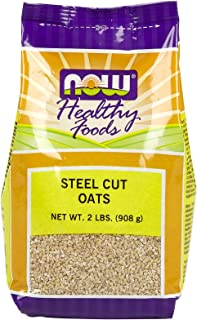 Steel Cut Oats, 2 lb by Now Foods (Pack of 5)