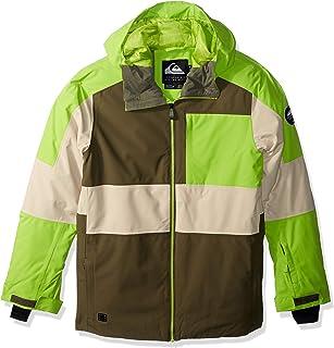 Quiksilver Boys' Big Sycamore Youth 10K Snow Jacket, Grape Leaf, 12/L