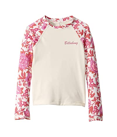 Billabong Kids Take A Trip Long Sleeve Rashguard (Little Kids/Big Kids) (Seashell) Girl
