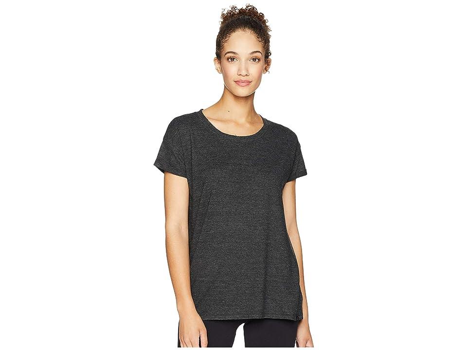 Prana Cozy Up T-Shirt (Charcoal Heather) Women