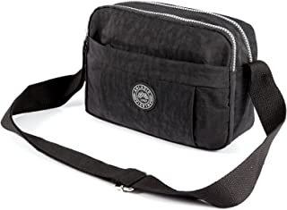 Fraulein38 Women's Nylon Casual Shoulder Bag Crossbody Bags